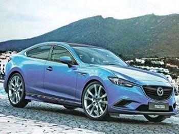 Mazda6 прерватится в купе