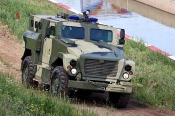 Новые автомобили для российской армии: «Медведь» и «Волк»