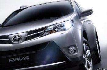 Обновленная Toyota RAV4 проявляется по частям