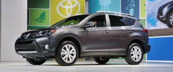 Toyota RAV4 показали «вживую»