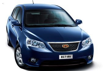 Geely Emgrand EC7 � ���������� ���� � ������� ������� �����