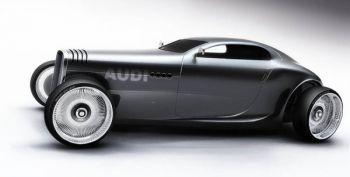 Гоночный джентельменский концепт Audi