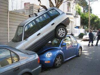 Как правильно парковаться зимой