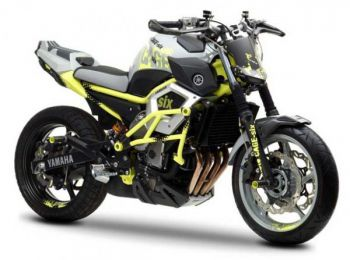 Фристайловый мотоцикл Yamaha Moto Cage-Six