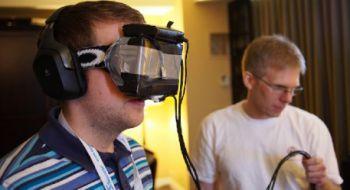����� ������� �������� � ������ ������ ���������� Oculus Rift