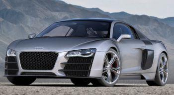 ����� Audi R8 ��������� �� ������������
