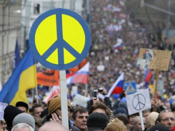 В Москве планируют провести 50-тысячный Марш мира против агрессивной политики РФ