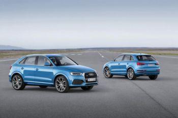 Audi представила рестайлинговый кроссовер Q3