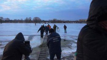 Рятувальники ДСНС зняли з крижини майже три десятки рибалок