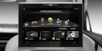Audi Q7 будет поставляться с фирменным 10-дюймовым планшетом